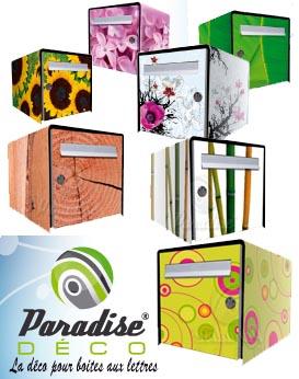 Décorer sa boîte aux lettres aux couleurs de la nature et du jardin