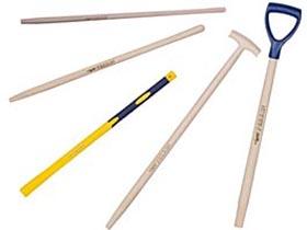 Manche en bois pour outils de jardin