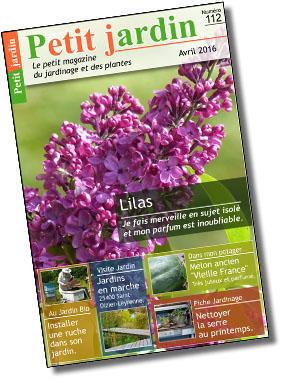 Magazine petit jardin n 112 avril 2016 jardinage for Magazine jardinage