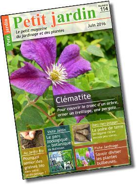 Magazine petit jardin n 114 juin 2016 jardinage for Magazine jardinage