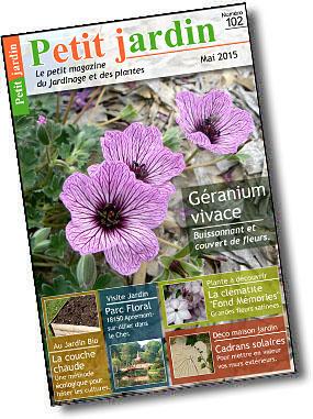 Magazine petit jardin n 102 mai 2015 jardinage for Magazine jardinage
