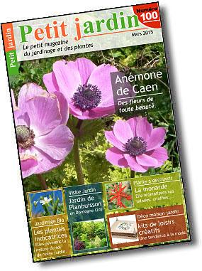 Magazine petit jardin n 100 mars 2015 jardinage for Magazine jardinage