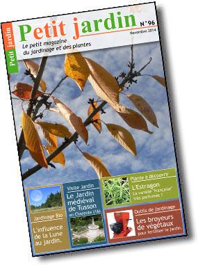 Magazine petit jardin n 96 novembre 2014 jardinage for Magazine jardinage