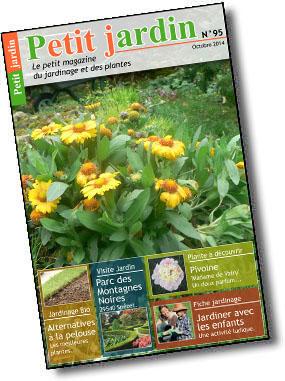 Magazine petit jardin n 95 octobre 2014 jardinage for Magazine jardinage
