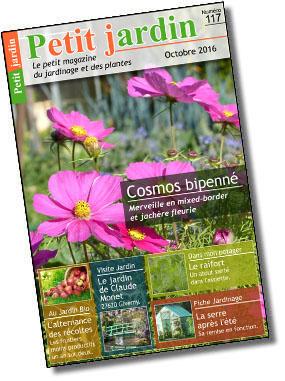 Magazine petit jardin n 117 octobre 2016 jardinage for Magazine jardinage