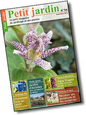 Magazine petit jardin n 94 septembre 2014 jardinage for Magazine jardinage