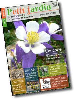 Magazine petit jardin n 105 septembre 2015 jardinage for Magazine jardinage