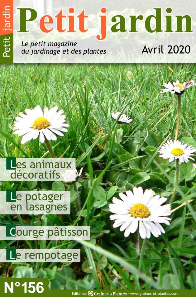 Info jardinage du mois d'Avril 2020 Magazine-jardinage-petit-jardin-avril-2020