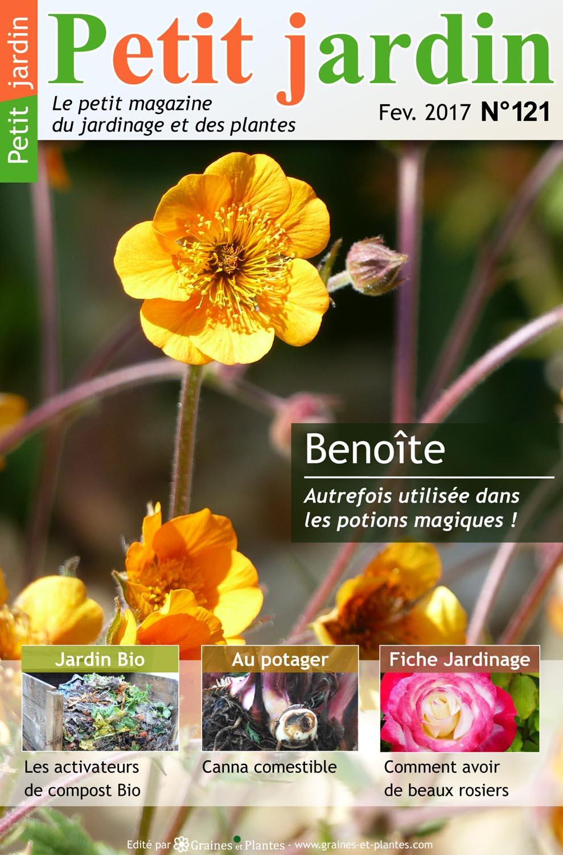 Magazine petit jardin n 121 fevrier 2017 jardinage for Magazine jardinage