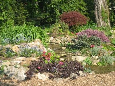 jardin de rocaille - Jardin Virtuel