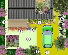 Jardin d 39 un mobile home dans les dunes - Mobil home dans son jardin ...