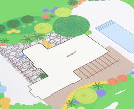Dessiner son jardin for Dessiner son jardin paysager