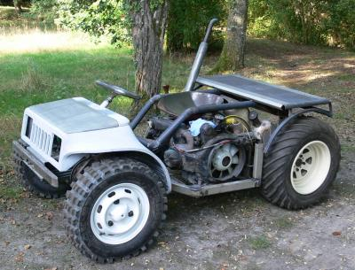 Mini Tracteur 4x4